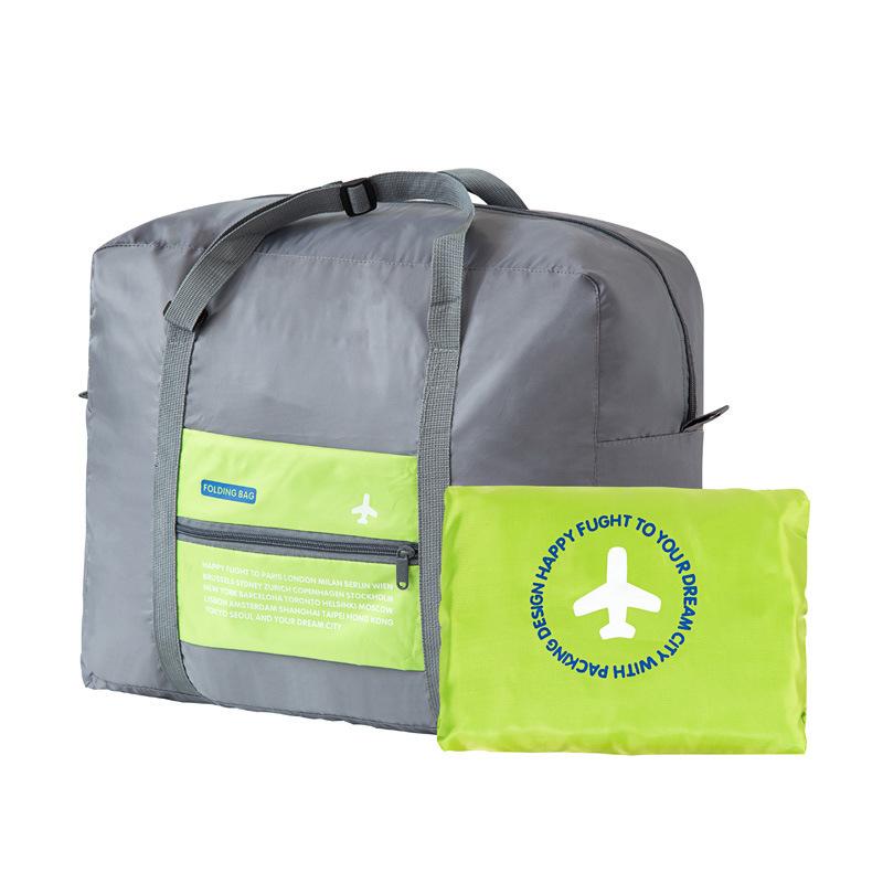 High Quality WaterProof Travel Bag Large Capacity Bag Women Nylon Folding Bag Unisex Luggage Travel Totes Handbags Hot Sale(China (Mainland))