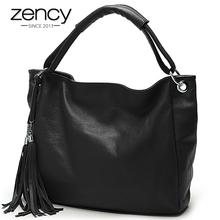Buy 11Cls Bolsas Fashion 100% Italian Soft Genuine Leather Tassel Women's Handbag Ladies Shoulder Bags Satchel Purse Crossbody Tote for $47.82 in AliExpress store