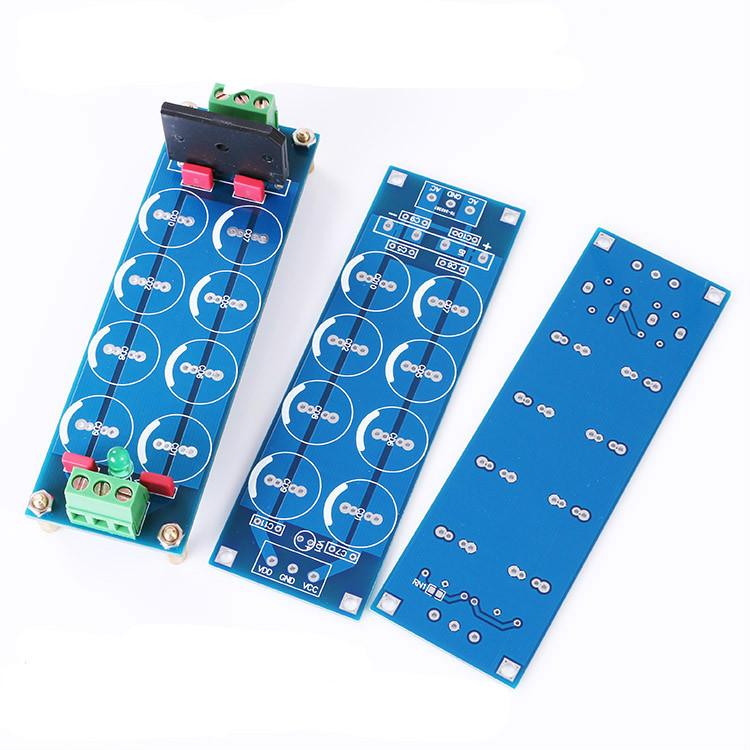 Dual Audio Power Amplifier Power Supply Filter PCB Board diy kit 114.8 x 36.9mm(China (Mainland))