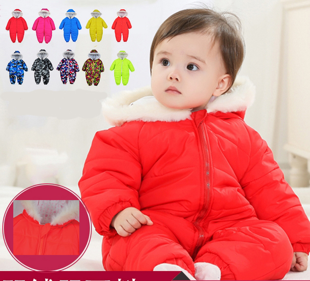 100% cotton Baby clothes thickening newborn clothes and baby warm, autumn and winter clothes,winter wear winter cotton jacket(China (Mainland))