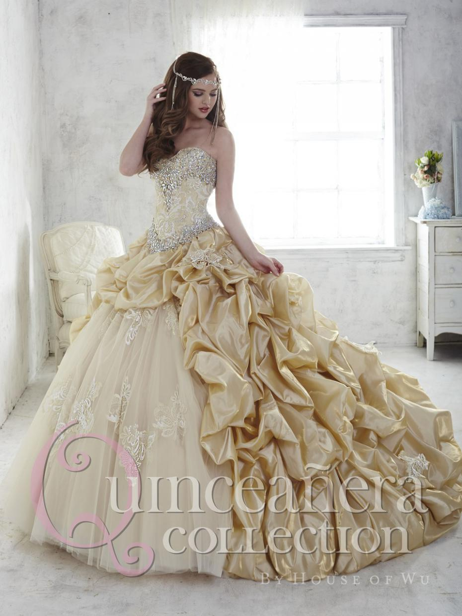 Online Get Cheap Gold White Sweet 16 Dresses -Aliexpress.com ...