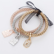 Heart opal simulated pearl charms women bracelet rose gold/silver plated zinc alloy female bracelets & bangles jewelry MDJB029(China (Mainland))