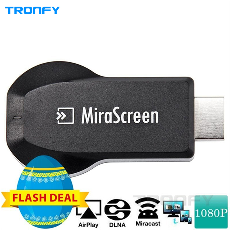 MiraScreen 2.4GHz Wireless HDMI Wi-Fi Display Dongle Linux OS AM8252 CPU 128MB RAM/ROM Support 1080P(China (Mainland))