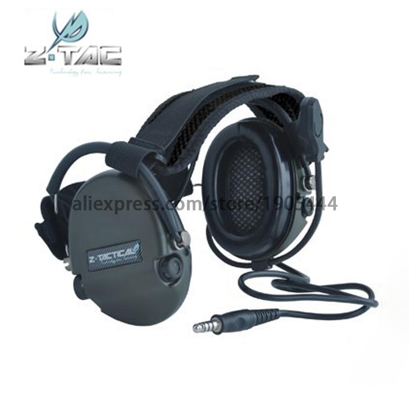 (Z 039)Earphone Element Ztactical TCI LIBERATOR II Neckband Headset Tactical Headset