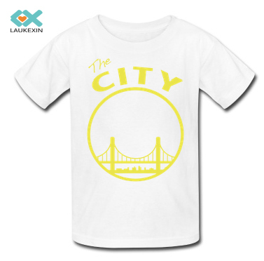 Kids T-shirts the city Tees Fahion Persionalized Custom Graphic Clothings O-neck 100%Cotton Plus Size Casual Children Tshirts(China (Mainland))