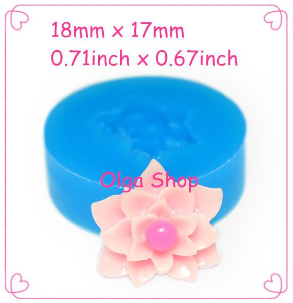 Aliexpress.com : Buy HYL169 Flower Silicone Mold ...