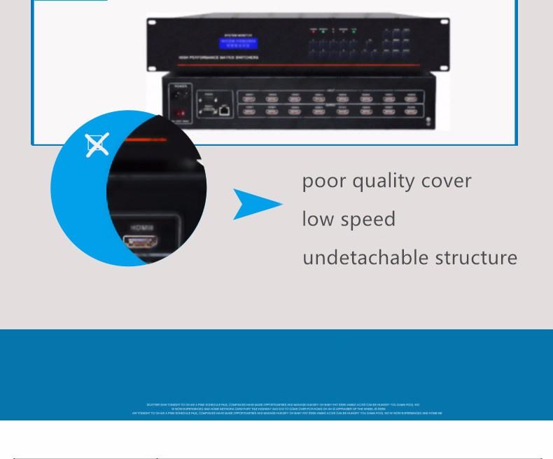 Folaida 4K x 2K 24X24 HDMI матричный коммутатор вставная карта HDMI/DVI 1080P видео RS232 ИК пульт 10