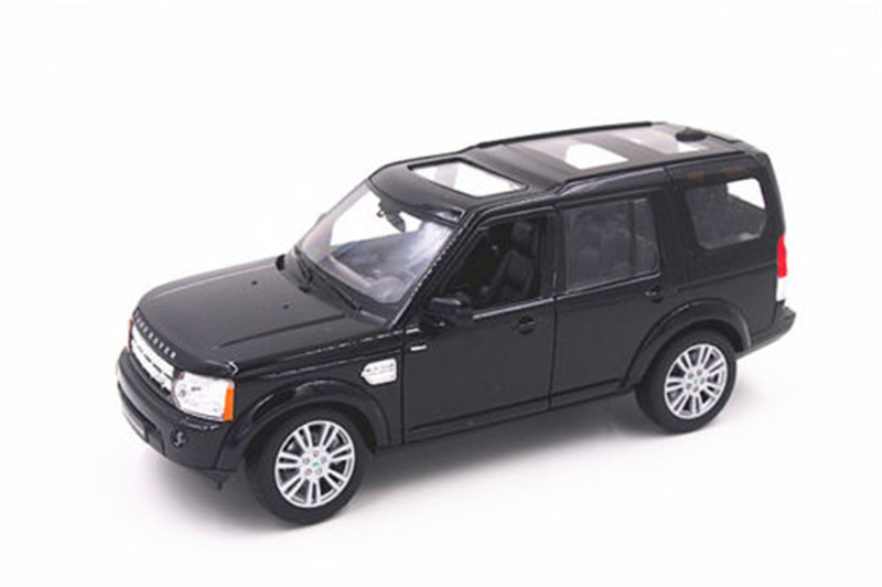1:24 Welly Discovery 4 Diecast Model Toy Car Vehicle Black New in Box(China (Mainland))