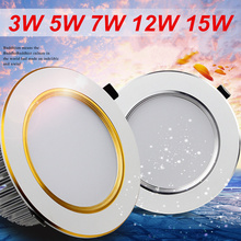3W 5W 7W 12W 15W Fogging LED downlights ceiling ,Prevent mist tube light,down lamp,Illumination,LED lighting(China (Mainland))
