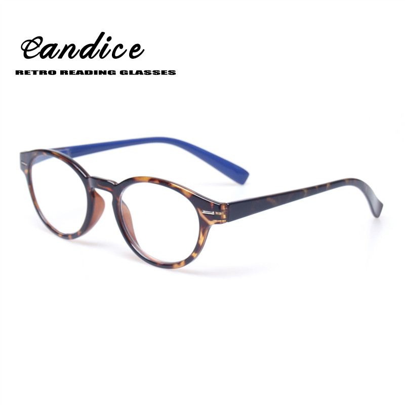 2016 glasses 879a  Reading glasses Classical Retro Vintage Round Frame Eyewears Men and Women  Spring Hinge Presbyopia Glasses