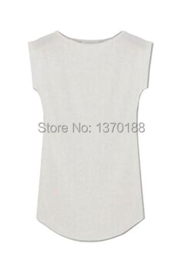 Новый 2015 года женщинам моды модальных экипажа шеи случайный рукавов футболку Топ летних Повседневные топы тройники