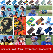 New Arrival Turban Magic Headband Outdoor Sports Cycling Bike Bicycle Riding Variety Veil Multi Head Scarf Scarves Face Bandanas