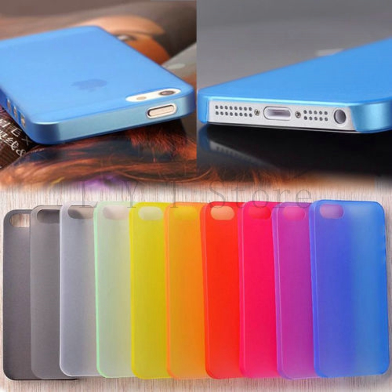 0.3mm Thin Slim Matte frosting Shell Cover Skin for iphone