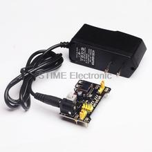 Buy Free Shipping!! 3.3V/5V MB102 Breadboard power module+C 100V-240V Converter Adapter DC 9V 1A Power Supply US Plug Arduino for $3.40 in AliExpress store