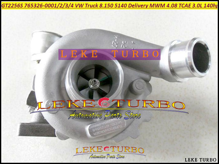 GT2256S 765326-0001 765326-5002S 765326 Turbo Turbocharger For Volkswagen VW Truck 8.150 5140 Delivery 08 For MWM 4.08 TCAE 3.0L(China (Mainland))