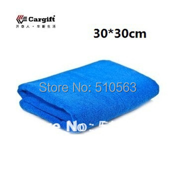 qc005 Free Shipping 6pcs 30*30cm auto washing thickening ultrafine fiber nano auto supplies cleaning Special car wash towels
