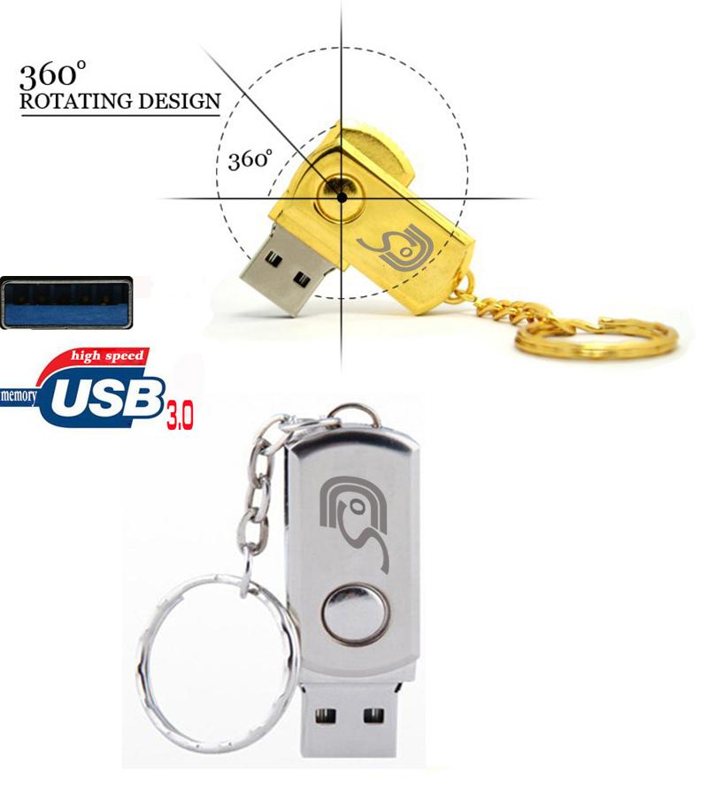 USB 3.0 metal flash drive 32G thumb downlod 4gb/16gb/32g usb flash memory pendrive 64g u disk stick usb cable to default custom(China (Mainland))