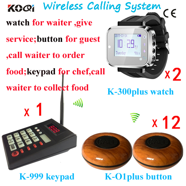 Smart Watch Restaurant Order Kitchen Equipment ; Cooker Call Waiter To Collect Order(China (Mainland))