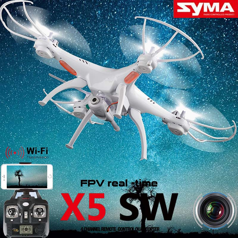 Syma X5SW 6 Axis Gyro 2 4G 4CH Real time Images Return RC FPV Quadcopter drone