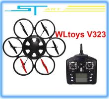 Drop shipping 2014 WLtoys V323 2.4G Remote Control Toys 4CH 6 Axis Gyro RC Quadcopter drone Headless Mode RTF VS V26 toy hobbies