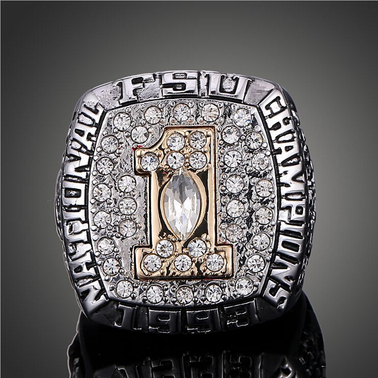 NCAA 1993 Florida State University Super Bowl Championship Ring American Football Champion Rings Men Classic Collection(China (Mainland))