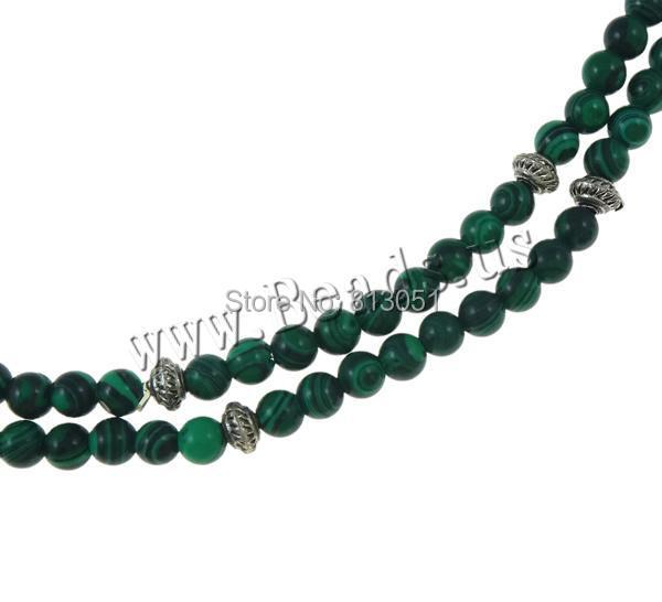 Free shipping!!!Wrap Bracelet,Designer Jewelry, Malachite, with Zinc Alloy, Round, natural, 4-strand, 4mm<br><br>Aliexpress