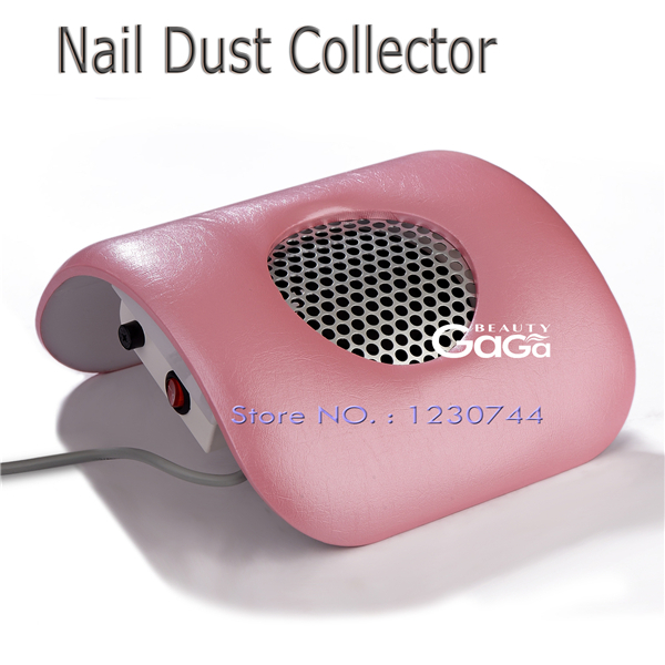 Beauty salon GaGa Candy Color Equipment Suction Strong Fan Nail Dust Collector 110V 220V EU Plug Art Manicure(China (Mainland))