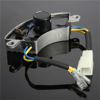 Audew Grey Shockproof 2-3KW Generator Petrol Automatic Voltage Regulator AVR Aluminum Shell