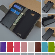 For One S 4.3 inch Flip Retro PU Leather Case For HTC One S Z520e Z560e Cover Book style J&R Brand protect phone cases 9 colors(China (Mainland))