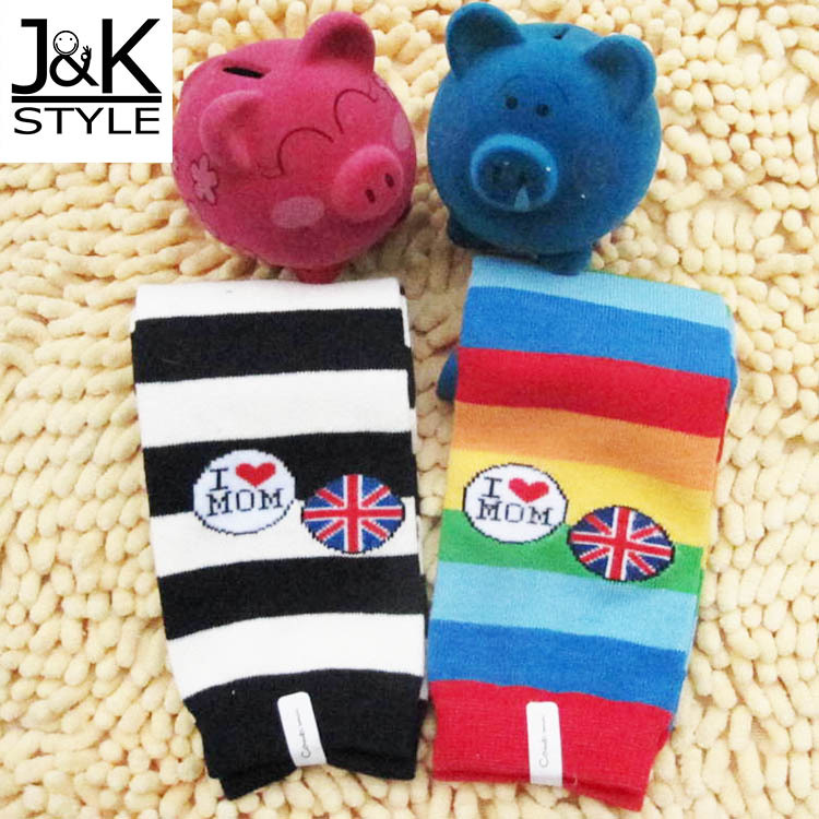 """12* """"I LOVE MOM"""" Cute Soft Baby leg warmer/the foot wear for newborn Hot Selling(China (Mainland))"""