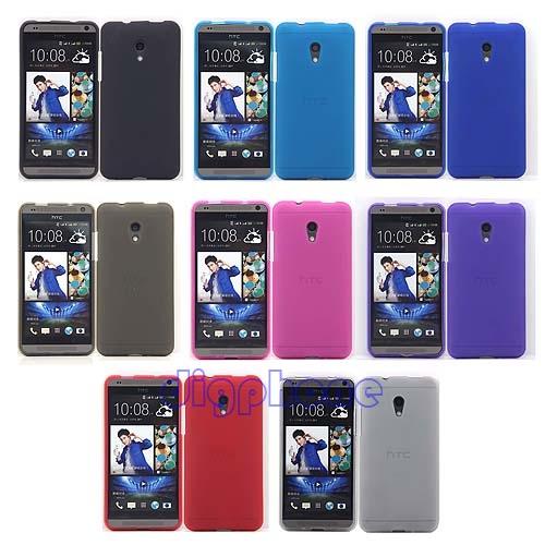 Гаджет  Matte TPU Silicone Gel Case Cover For HTC Desire 700 709d 7060 7088 Dual Sim None Телефоны и Телекоммуникации