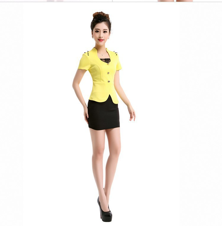 Ladies Two Piece Dress Suits