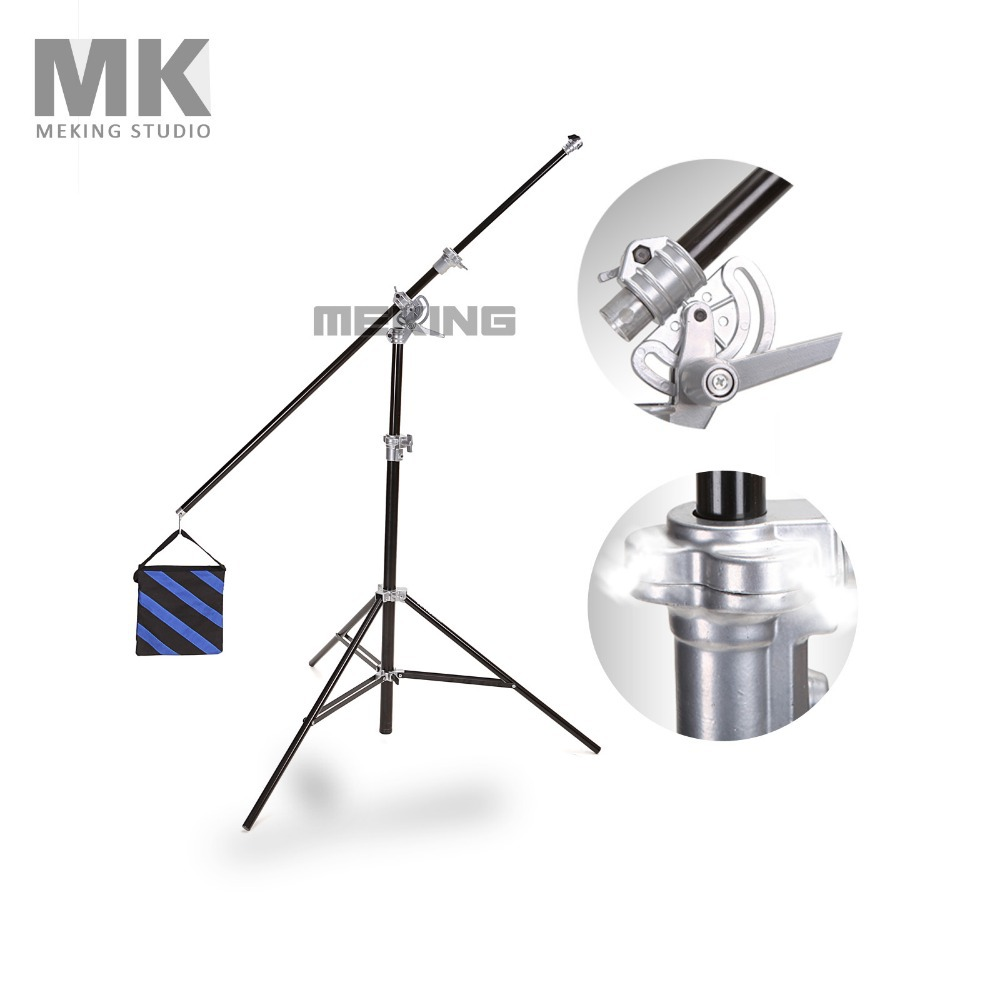 Фотография Selens High-quality Photo Studio SGL-400ZA Air-Cushioned & light Boom stand Double Duty professional Studio equipment