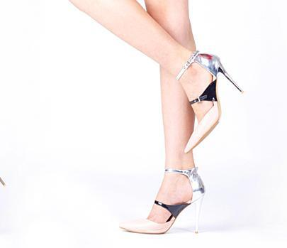 2015 New Fashion Mixed Color Ankle Strap Patent Leather High Heels Women Summer Sandals Stilletos Wedding Party Shoes(China (Mainland))