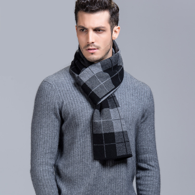 Image Gallery Man Scarf