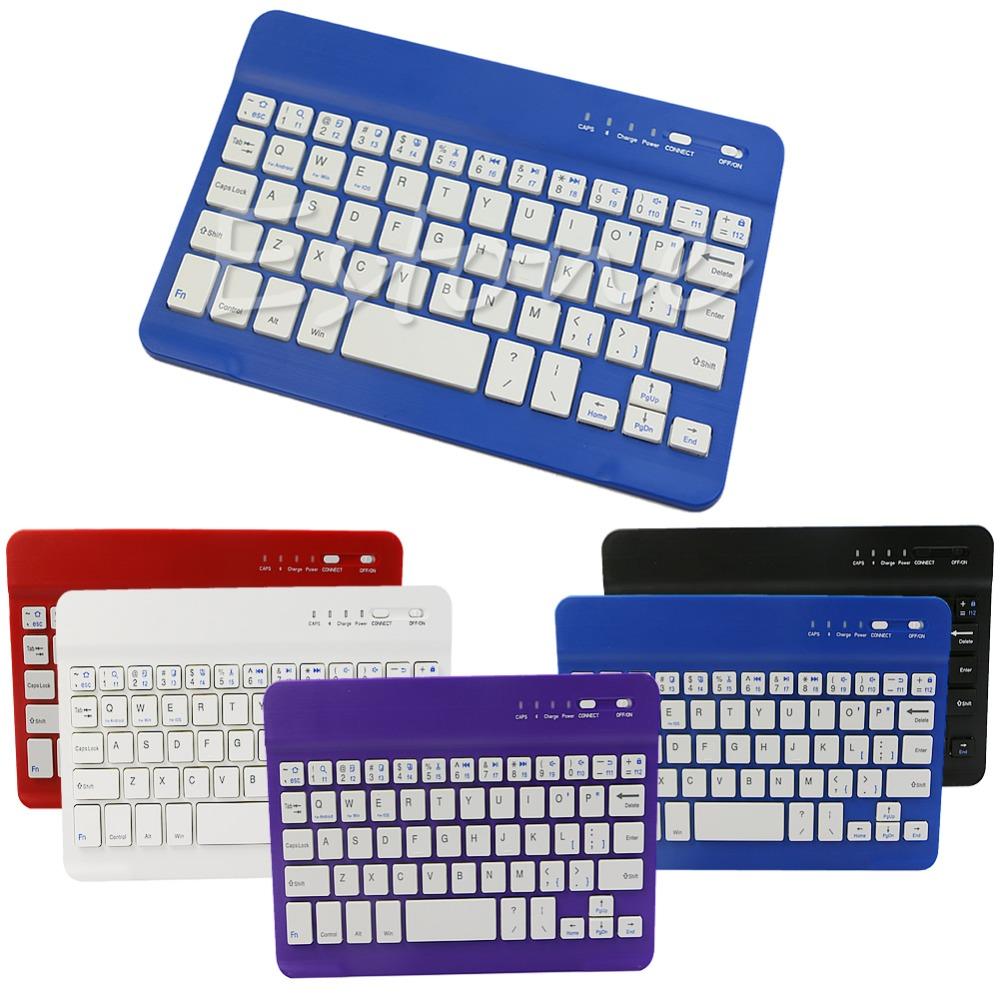 Slim Aluminum Wireless Bluetooth Mini Keyboard For IOS Android Windows PC(China (Mainland))