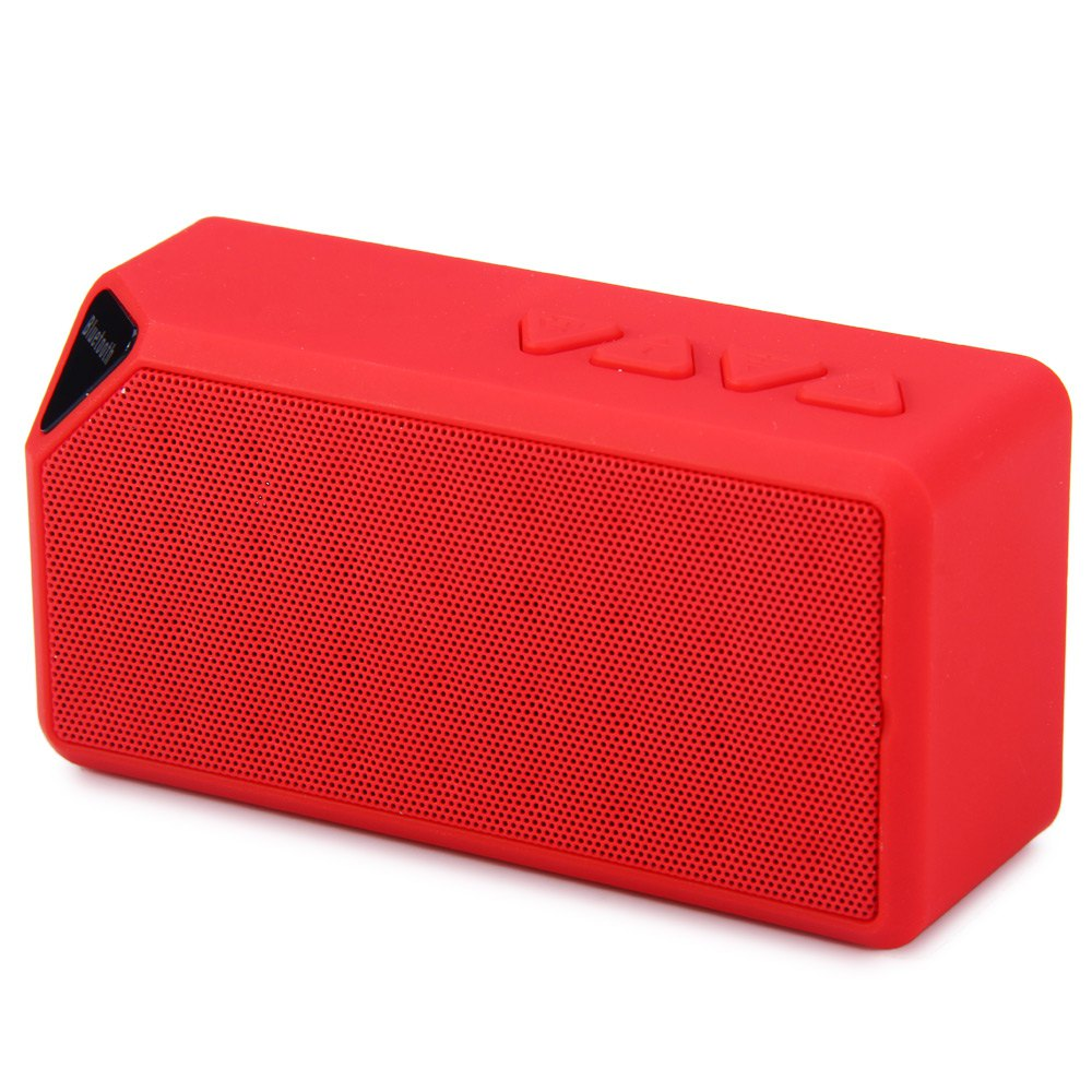 Newest X3 Mini Wireless Speaker Support USB/FM Radio/TF Card Built-in Microphone For Android/IOS Phones