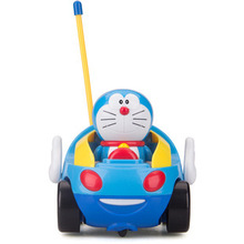 Buy New baby boys girl Doraemon Remote Control Electric toys car kids RC Car High speed Cute cat Cartoon musical light child Car toy for $19.50 in AliExpress store