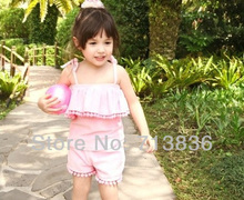 [Eleven Story] Girls 2016 summer new baby kids sets tops + shorts children clothing  ES505DS-35PO(China (Mainland))