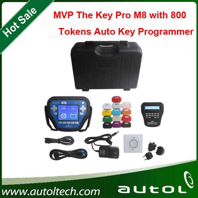danae:Top quality Universal car key programmer MVP Key Pro M8 Auto Key Programmer M8 with 800 tokens(China (Mainland))