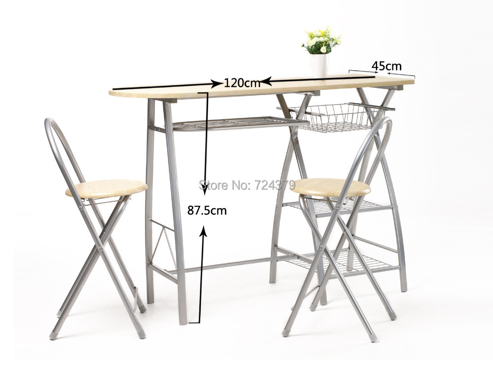 1 Set Outdoor Table Sets Folding Table Eat Desk And Chair