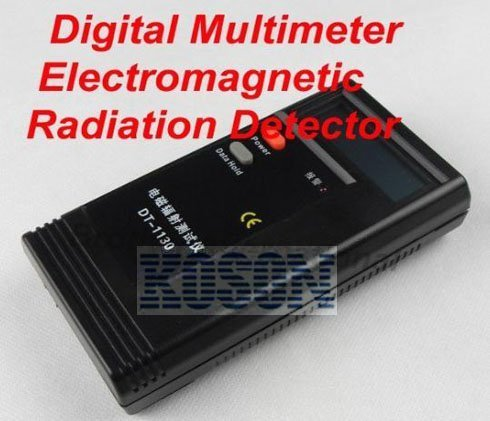 Free Shipping +Digital Electromagnetic Radiation Detector Meter 50Hz-2000MHz KM2296