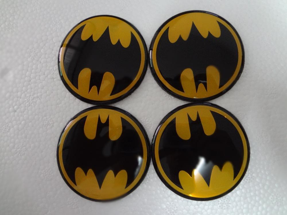 4pcs 60mm Wheel Center Caps Cover hubcap stickers For Skoda yeti fabia superb octavia bat pattern Badge emblem(China (Mainland))