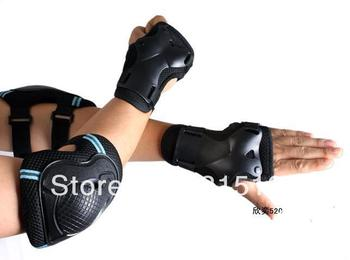 Q655 bike / pulley sports / tennis / skate / Volleyball protective equipment knee pads + elbow pad + nursing wrist