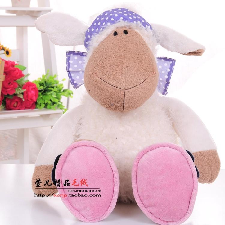 New Hot Classic 50cm Germany Nici Jolly Mah Turban Sheep Plush Toy 1pcs Children Birthday font
