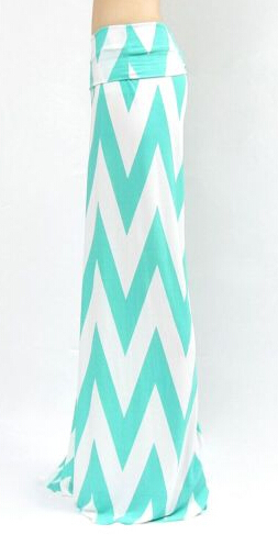 Plus size chevron wide leg pants