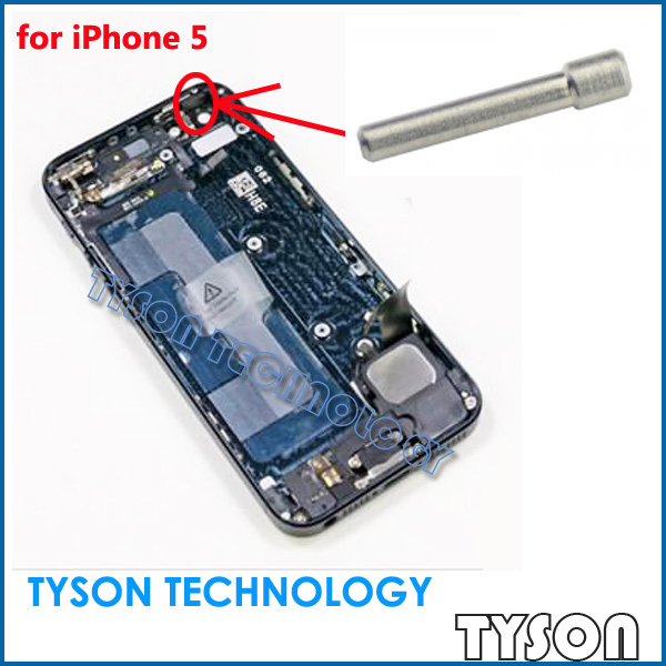 Power Button Metal Pin Support Needle For iPhone 5 Free Shipping