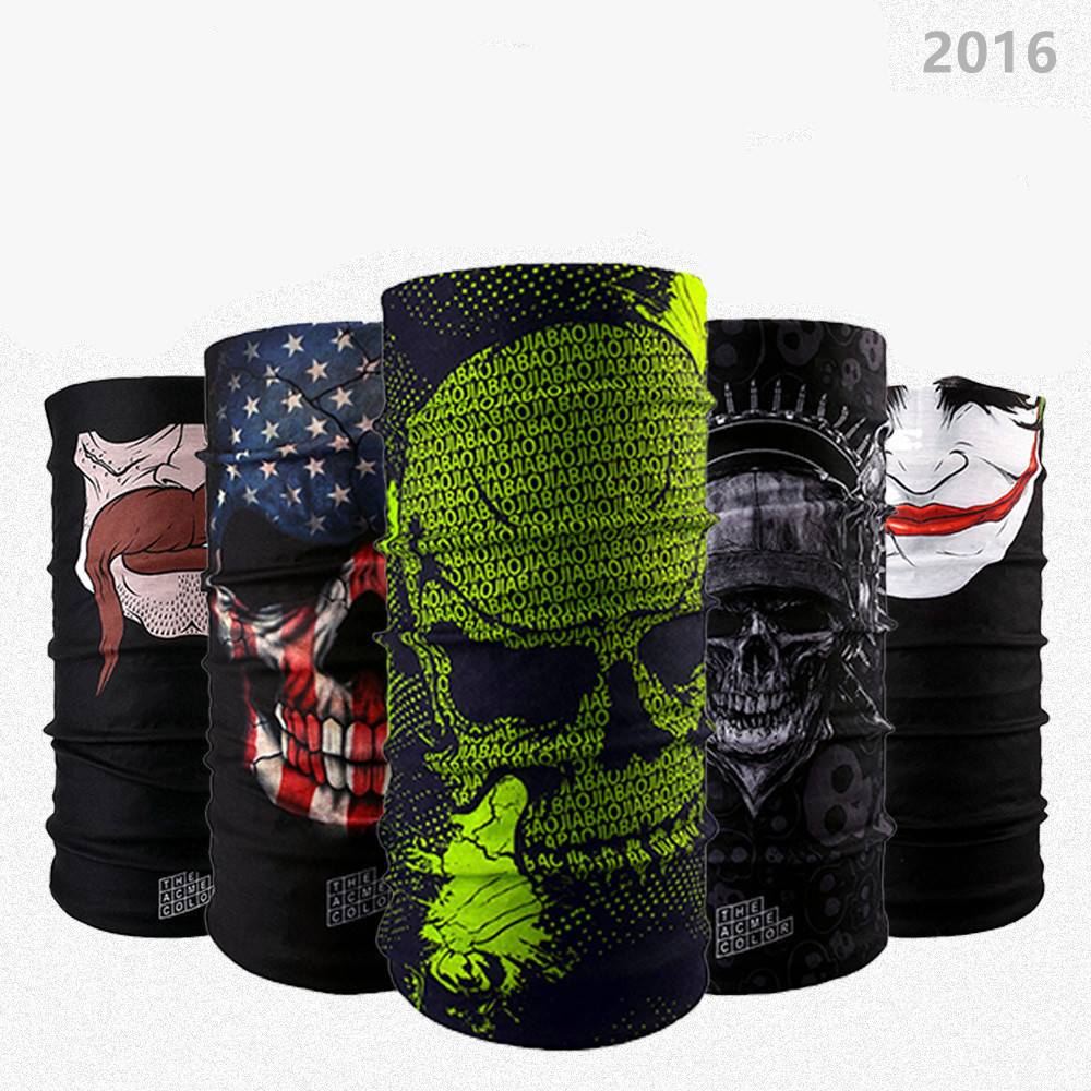 Lot of Design Skull Series 2 Scarf Variety Magic Bandanas Neckerchief Hijab Outdoor Sports Headband Veil Head Scarves Face Mesh(China (Mainland))