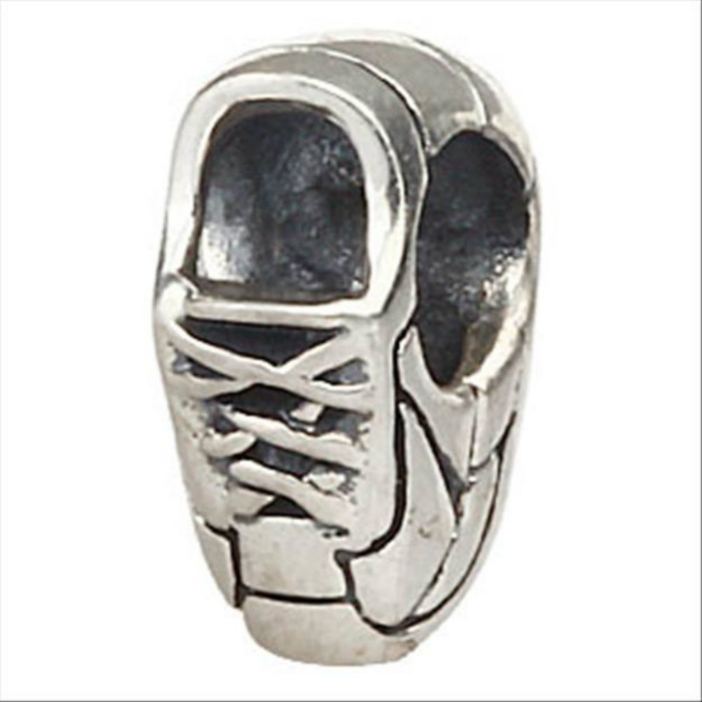 running sneaker runner shoe authentic 925 sterling silver