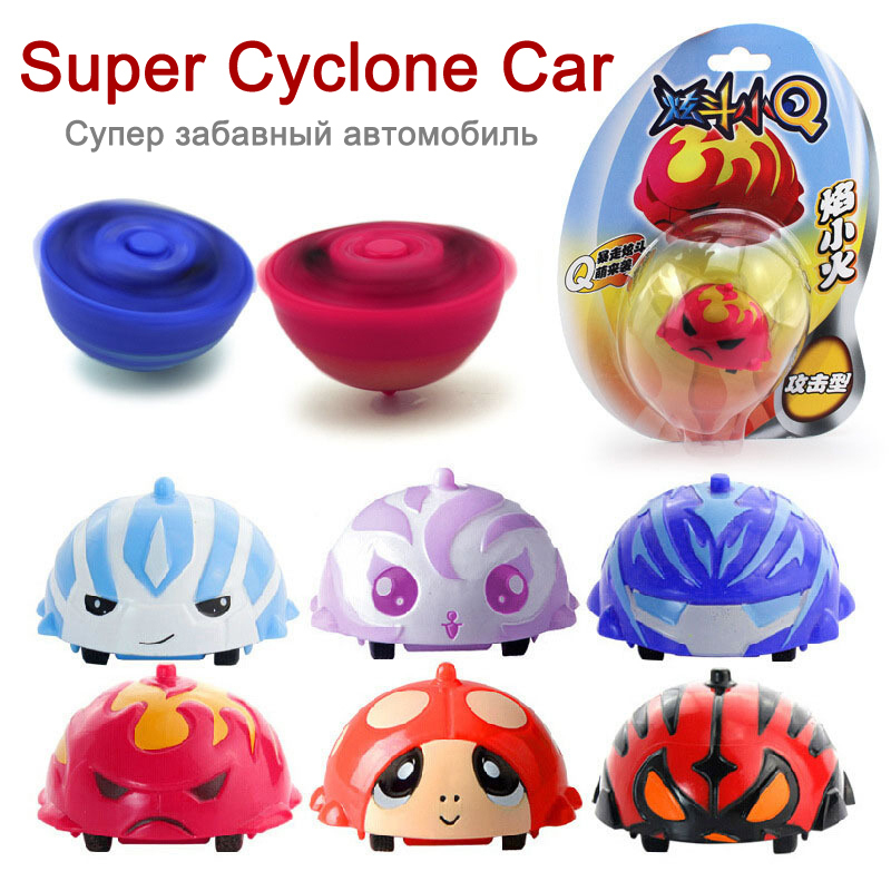 Super fun Mini Q Car Tornado racing gyro inertial cars, educational toys 2014 Hot sale(China (Mainland))